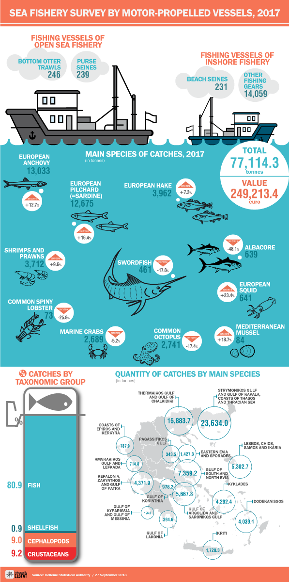 infographic sea fishery