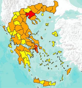 Διαδραστικός Χάρτης Βασικών δεικτών ανά διοικητική υποδιαίρεση
