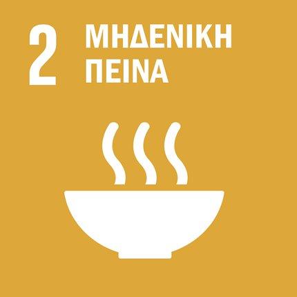 Δίνουμε τέλος στην πείνα, πετυχαίνουμε την επισιτιστική ασφάλεια, βελτιώνουμε τη διατροφή και τη βιώσιμη γεωργία